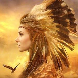 woman-indian-spirit