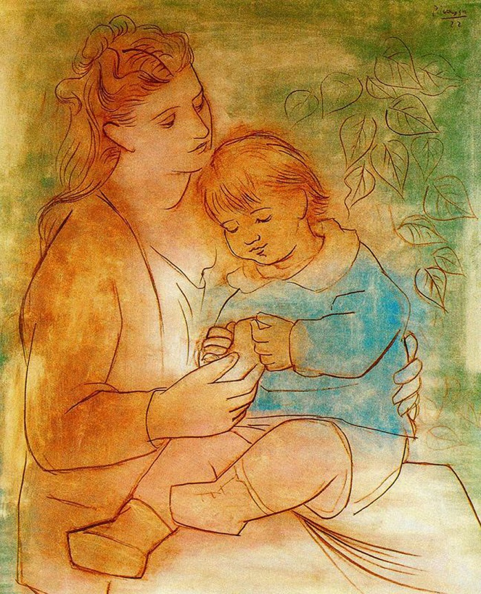 mother-and-child-1922